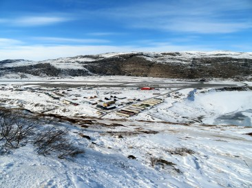 Kangerlussuaq, sede dell'Arctic Command e del Mittarfeqarfiit Kangerlussuaq