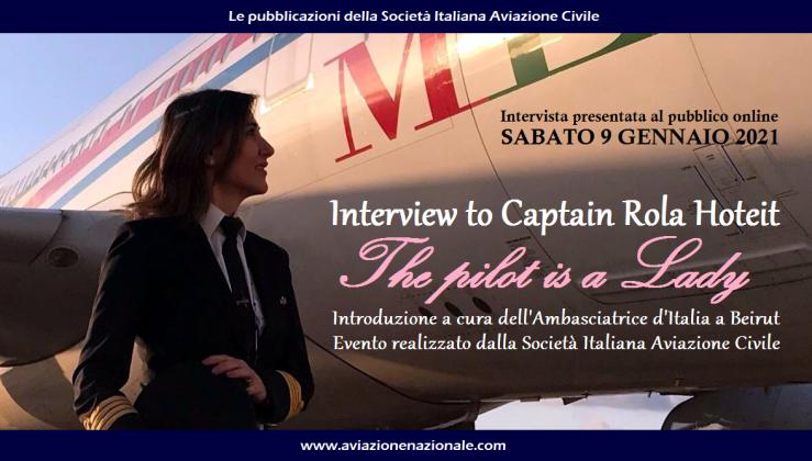Locandina The Pilot is a Lady